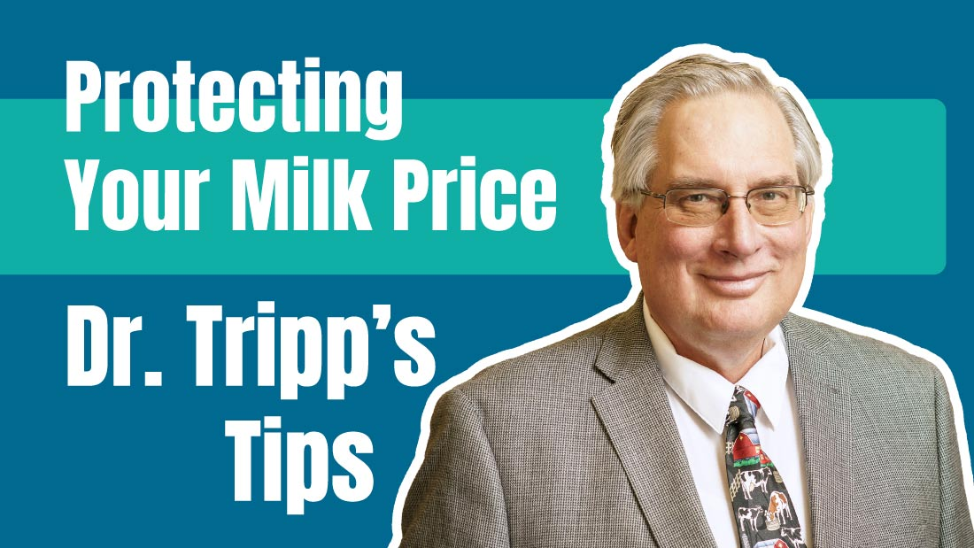 Dr. Tripp's Tips - Milk Price