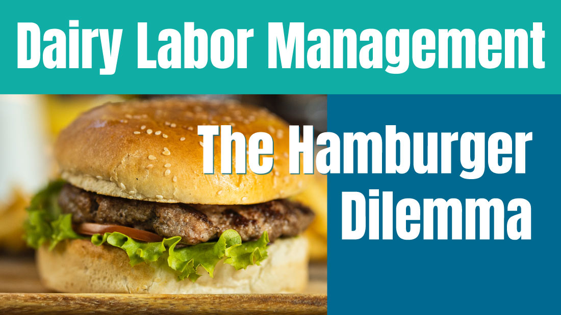 Dairy Labor Management: The Hamburger Dilemma